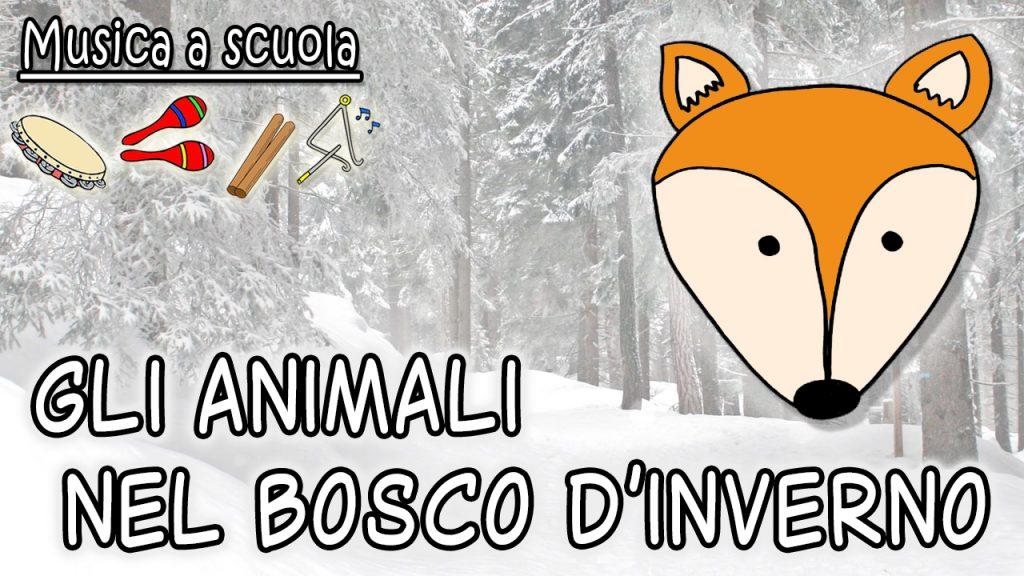 Gli animali nel bosco d'inverno⛄
