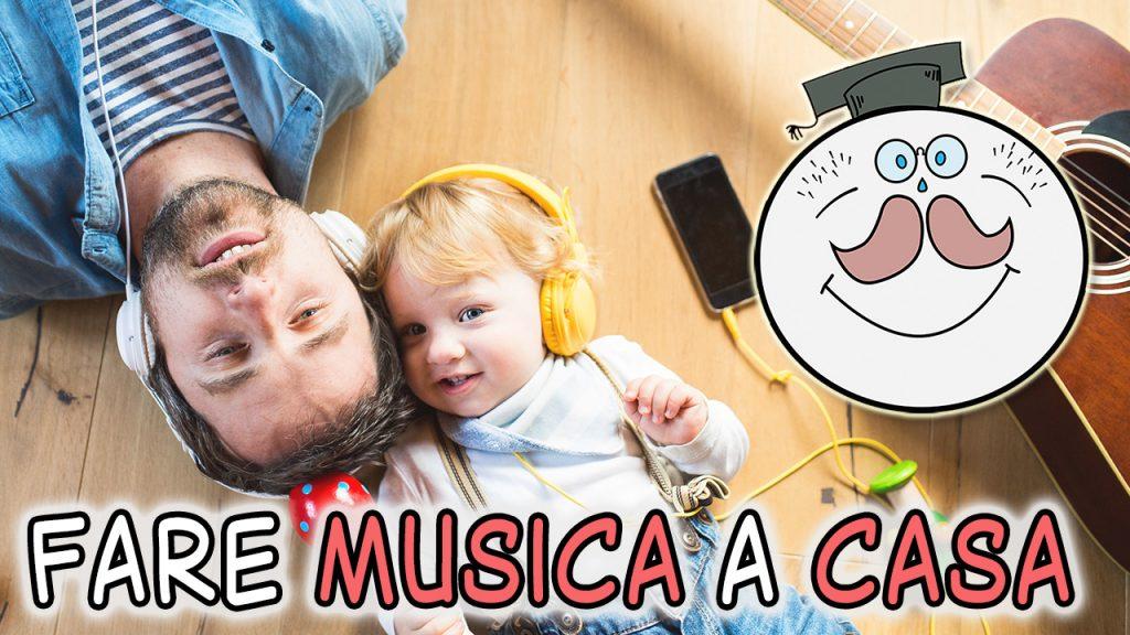 Attività musicali e didattiche a casa con i bambini
