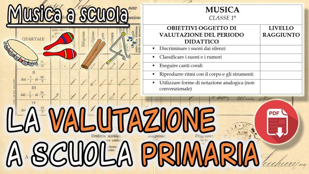 La nuova valutazione di musica a scuola primaria