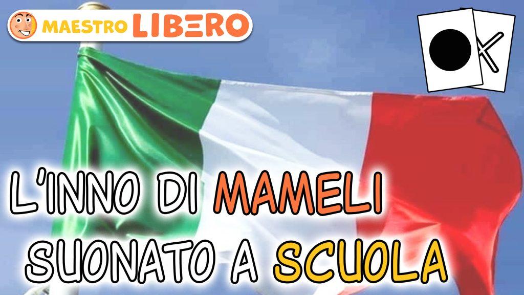 L'inno nazionale italiano suonato a scuola