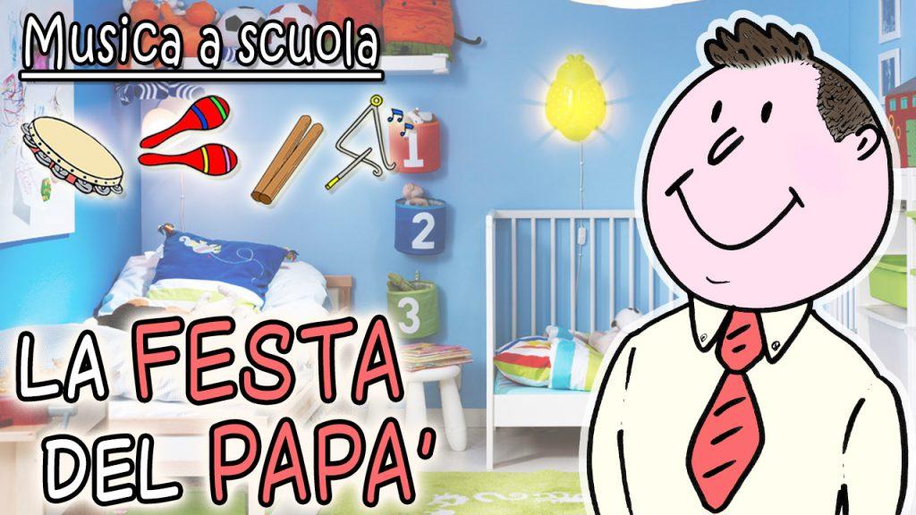La festa del papà a scuola