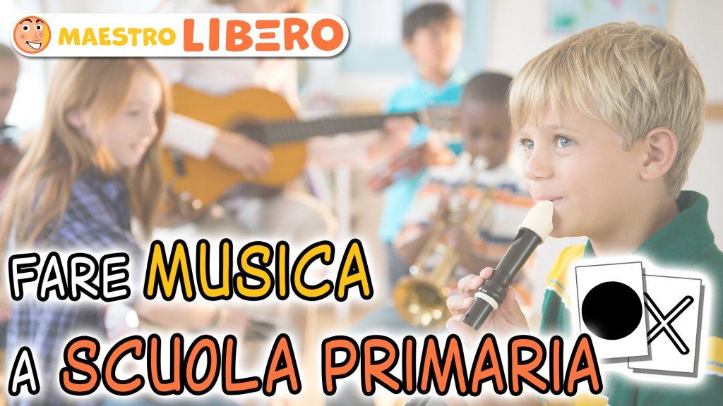 Fare musica a scuola primaria